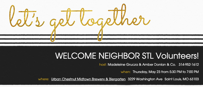 Get Together - Welcome Neighbor STL