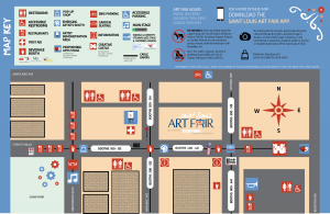 Saint Louis Art Fair Map