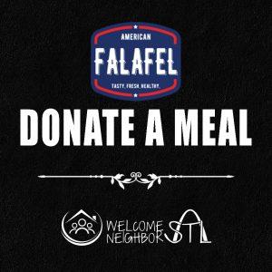 American Falafel - Donate a Meal