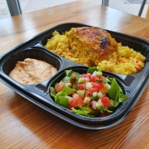 Chicken & Rice with Chef Salad