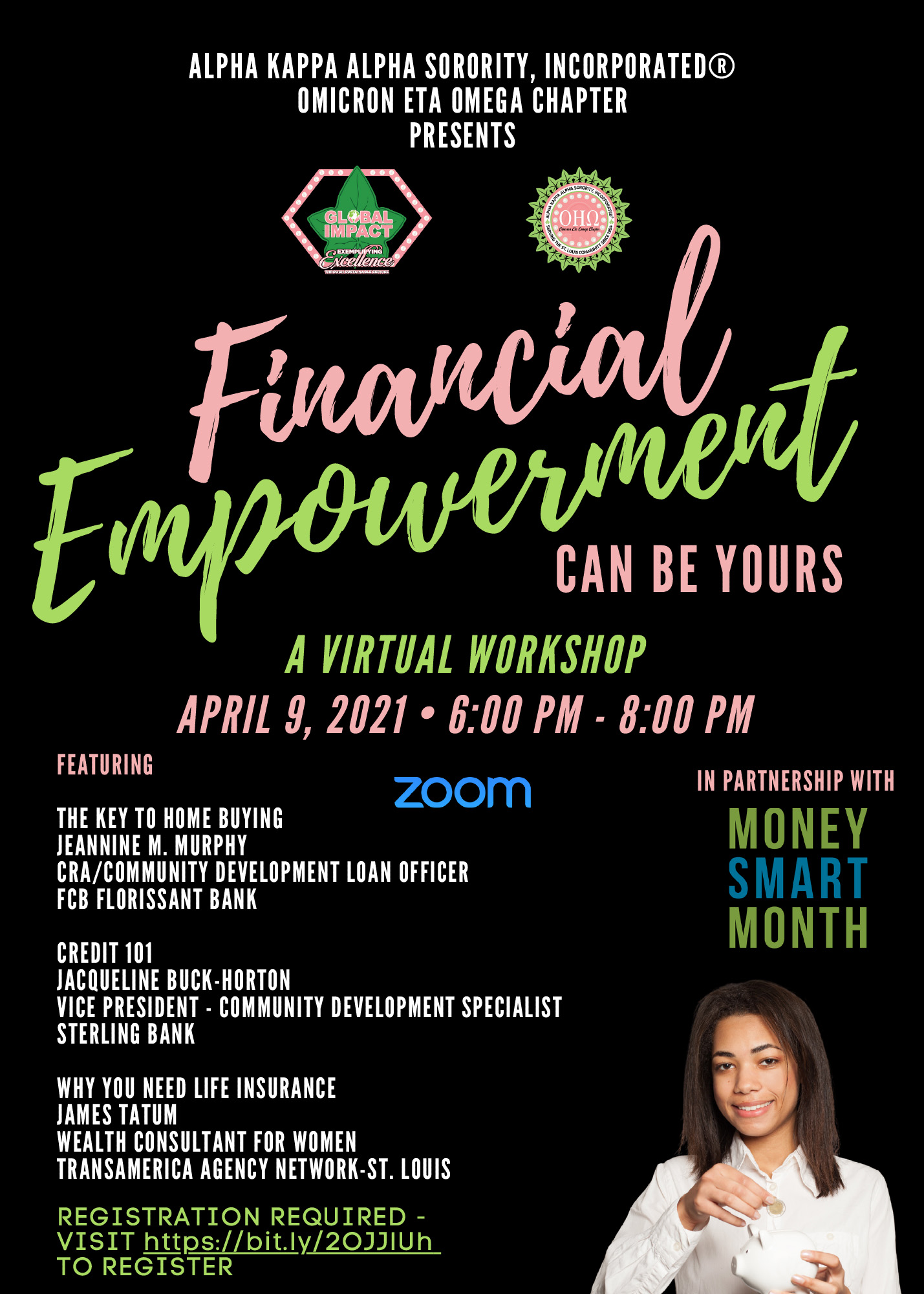 Financial Empowerment Virtual Workshop