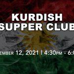 Kurdish Drive-Thru Supper Club - Sept 12
