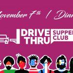 November 7 - Supper Club