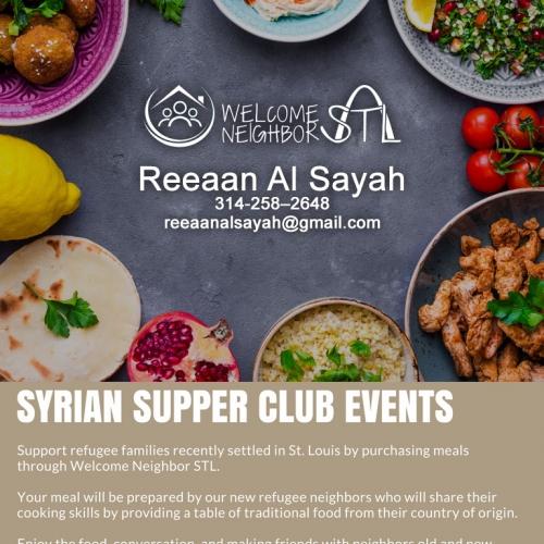 Reeaan Al Sayah | Welcome Neighbor STL